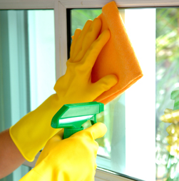 Washing Window, Janitorial Service in Chicago, IL